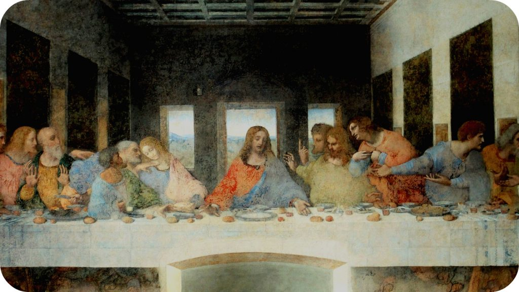 Da Vinci's Last supper in Milan
