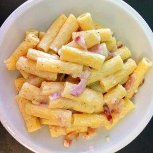 Μακαρονάδα αλά Gricia, η ιταλική συνταγή από τη Ρώμη
