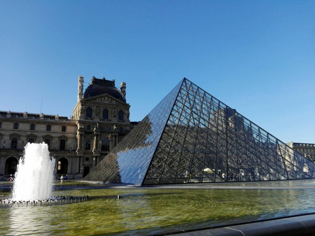 Louvre Paris pyramid