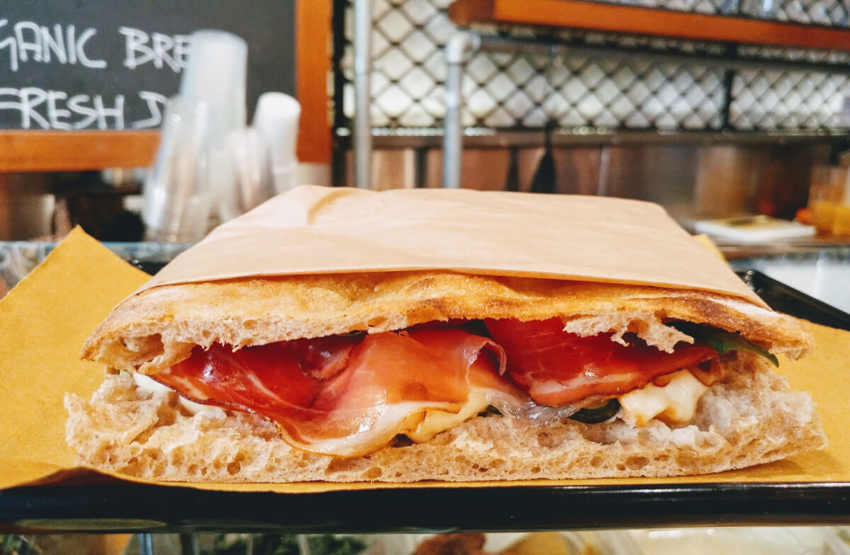ιταλικό σάντουιτς στη Ρώμη