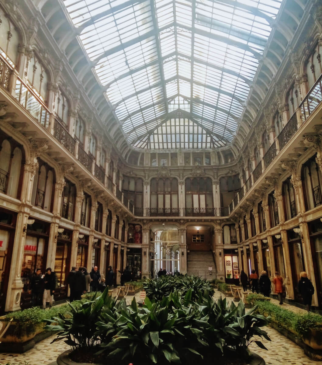 Gallery in Turin, Italy
