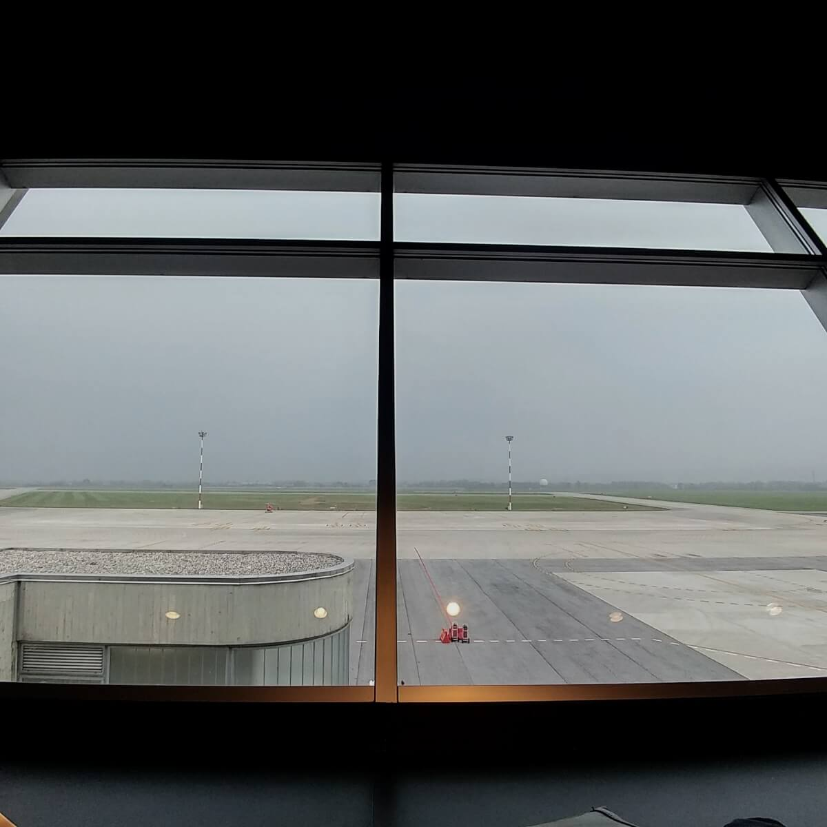 Foto from the airport of Trieste (Italy)