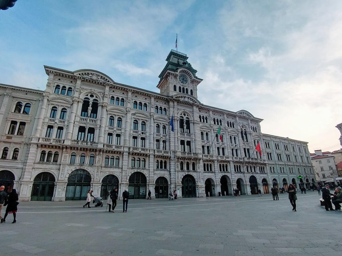 Piazza Unità d'Italia, Trieste, Italy