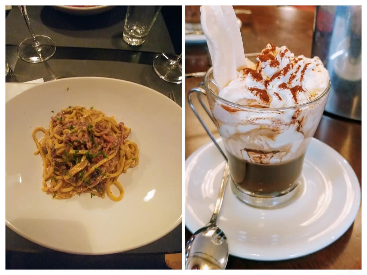 Eating in Trieste