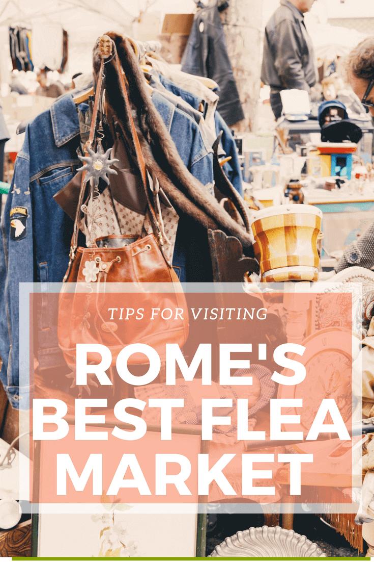 Rome's best flea market