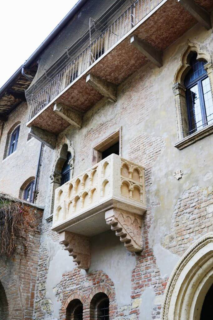 Balcony of Juliet, Verona, Italy