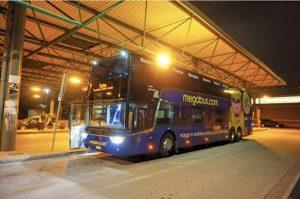 Ταξιδέυοντας με λεωφορείο της Megabus από 1€
