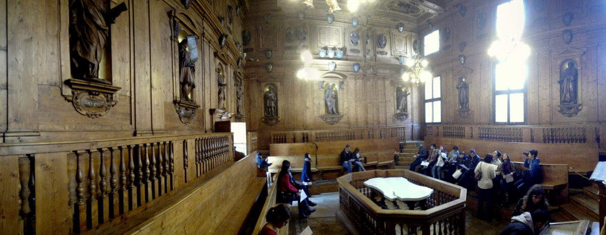 Teatro Anatomico, Bologna