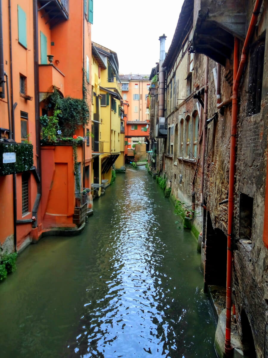 Canali di Bologna, Italy