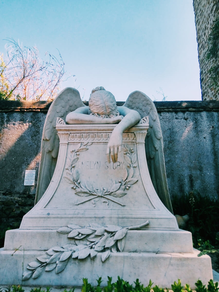 Non-Catholic Cemetery for Foreigners in Testaccio, Rome