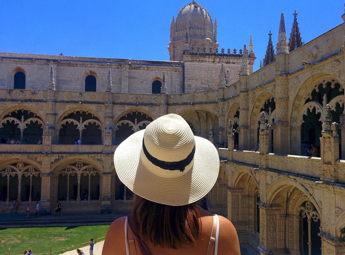 inside mosteiro dos jeronimos lisbon portugal