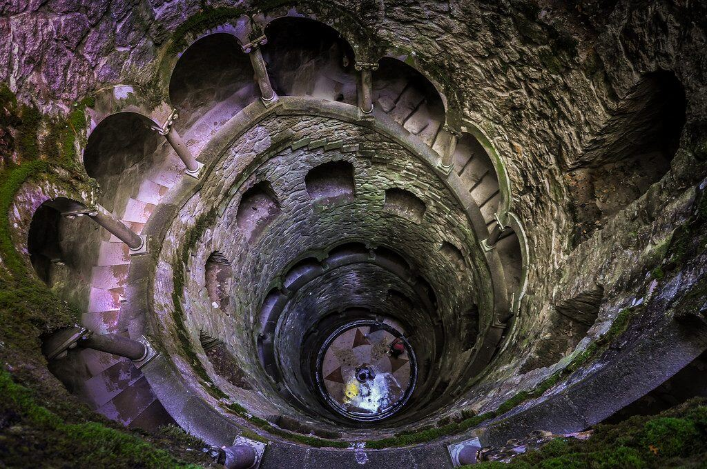 Initiation Well at Quinta Da Regaleira, Portugal