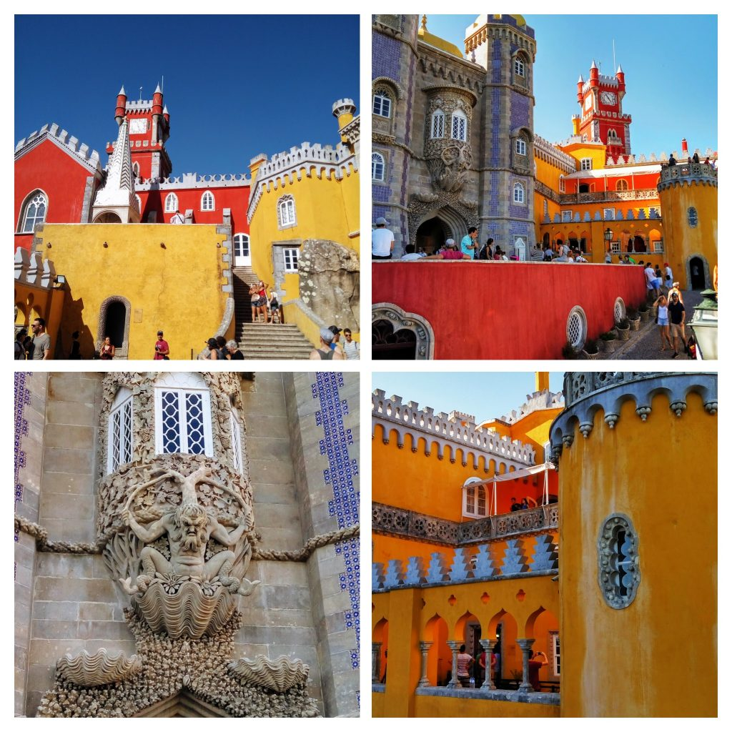 collage pena palace sintra