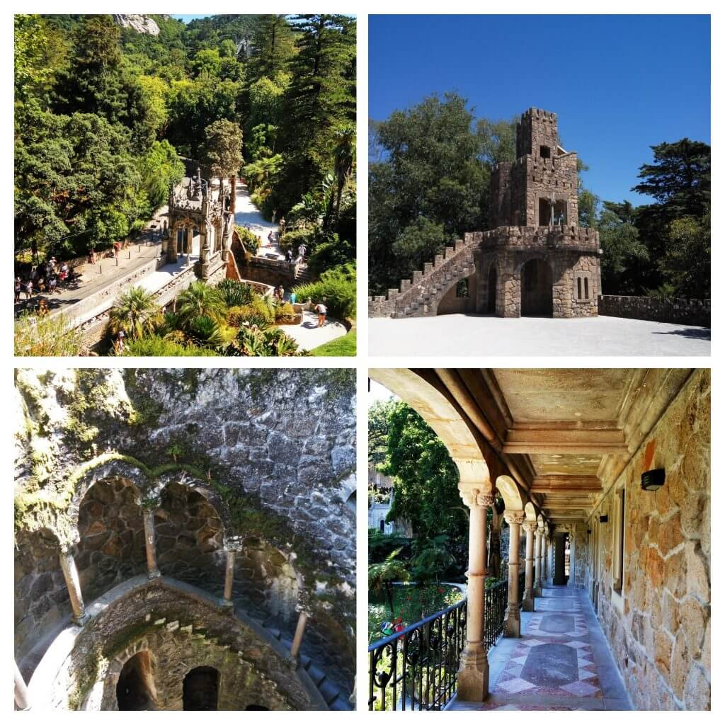 Quinta da Regaleira collage