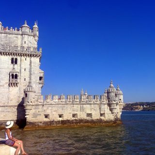 belem view portugal