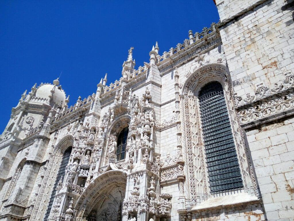 Mosteiro dos Jeronimos Lisbon Landmark