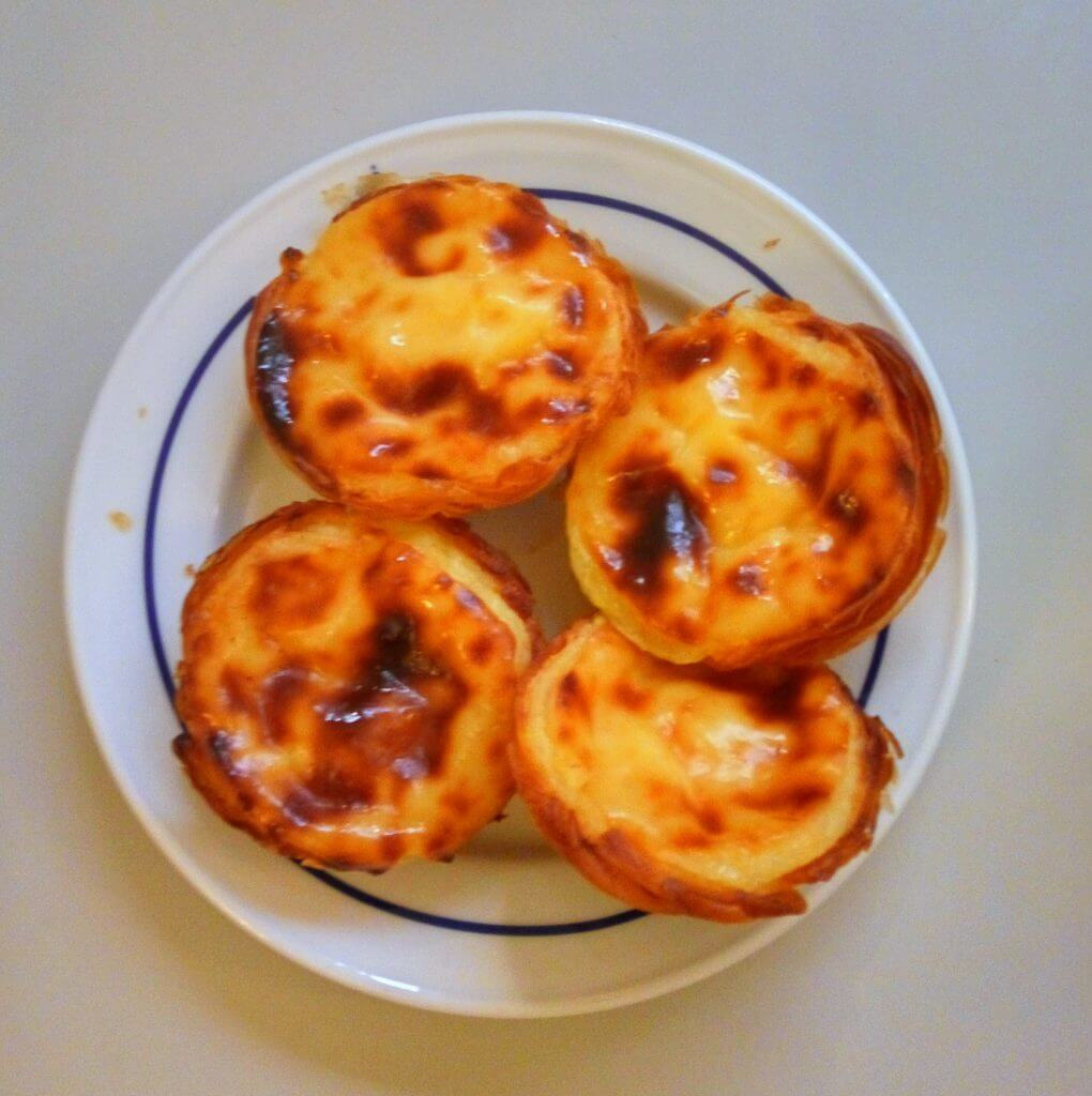 pastel di natas typical portuguese sweet