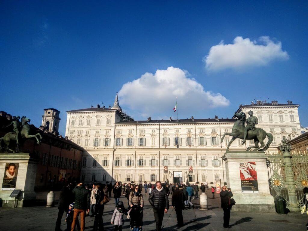 Sunny day in Turin, Italy