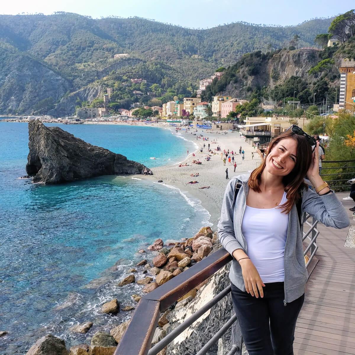 μοντερόσσο χωριό στις τσίνκουε τερρε ιταλια