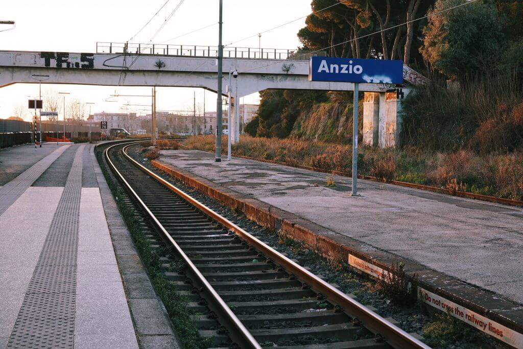 Anzio's train station