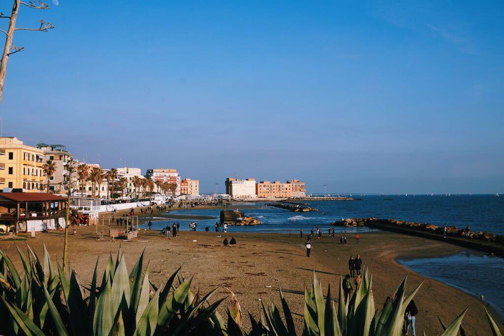 Anzio's beach