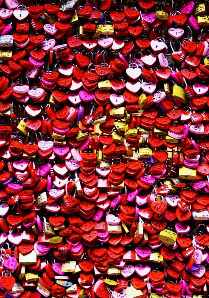 Love letters, Verona, Italy