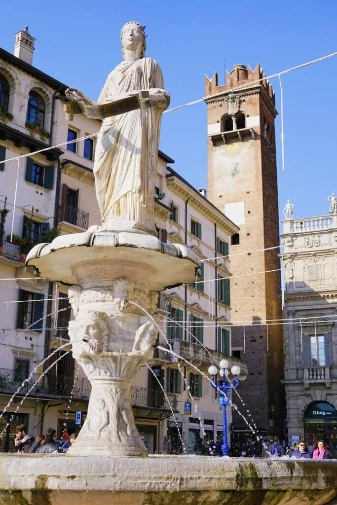 Piazza Delle Erbe, Verona, Italy
