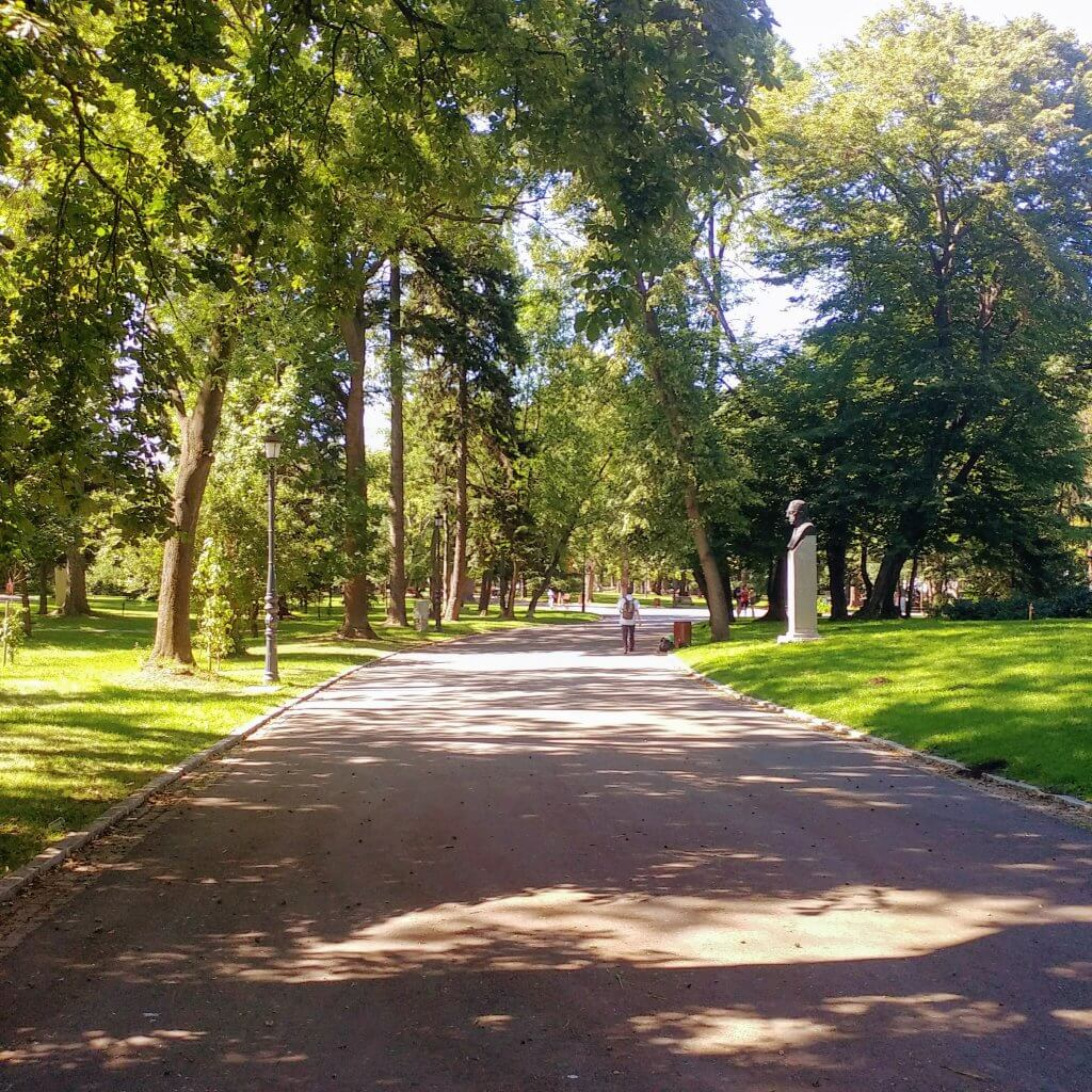 borisova gradina park in Sofia