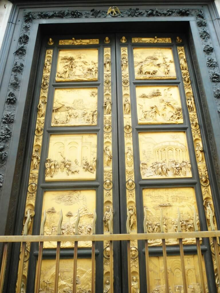 gates of heaven in baptistery florence