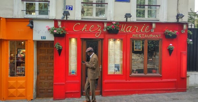 An afternoon in Montmartre