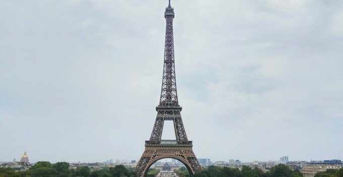 Επίσκεψη στον Πύργο του Άιφελ στο Παρίσι