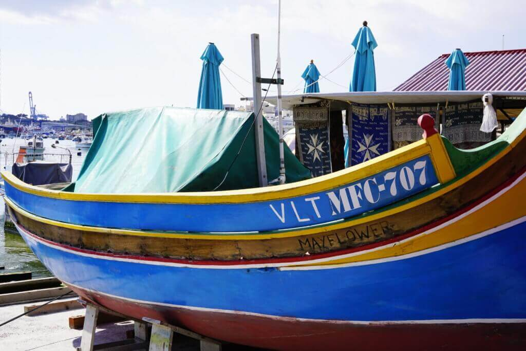 luzzu maltese boat