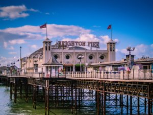 24 hours in Brighton, the British colourful seaside town