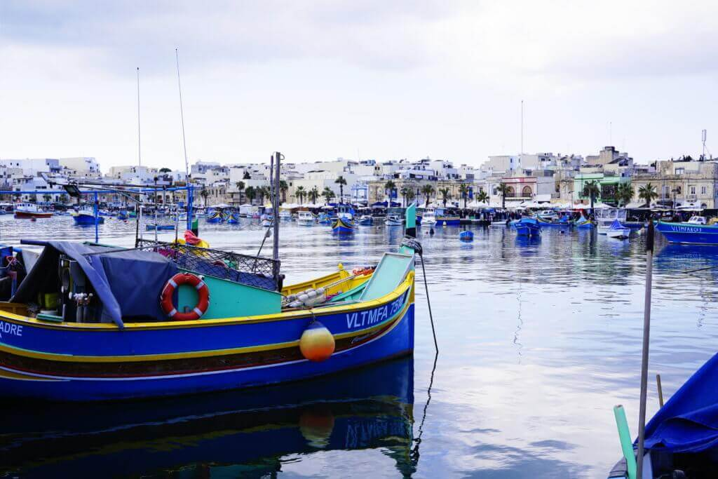 boats marsaxlokk