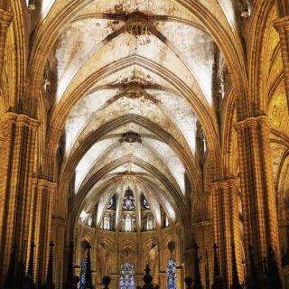 barcelona cathedral inside
