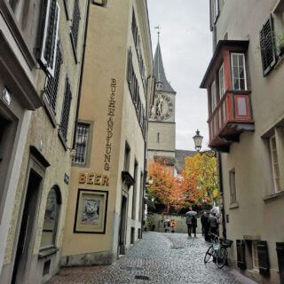 center of zurich