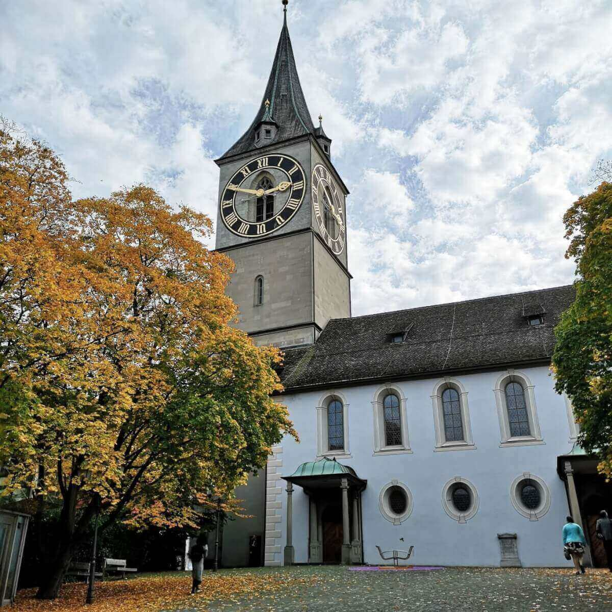 st peter church zurich (Peterskirche)