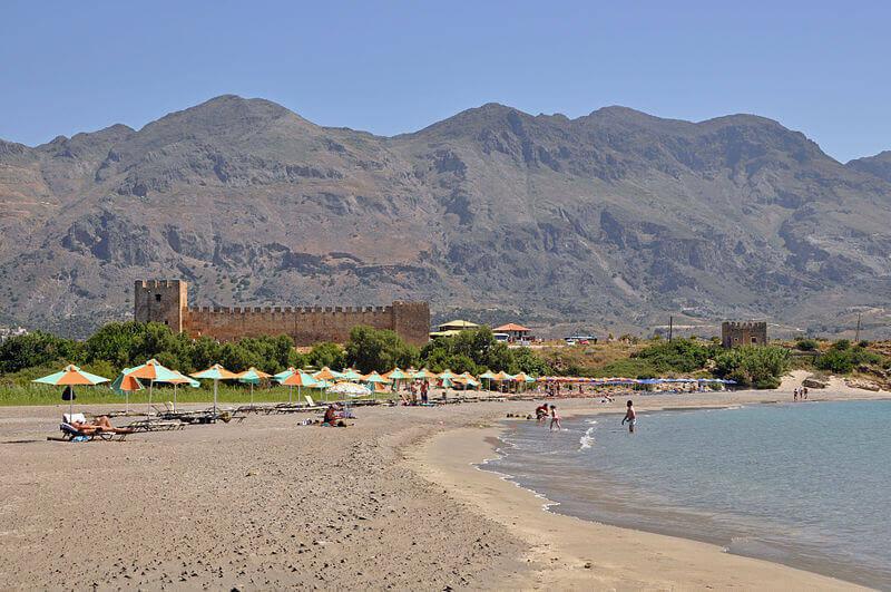 φραγκοκάστελο παραλία κρήτης