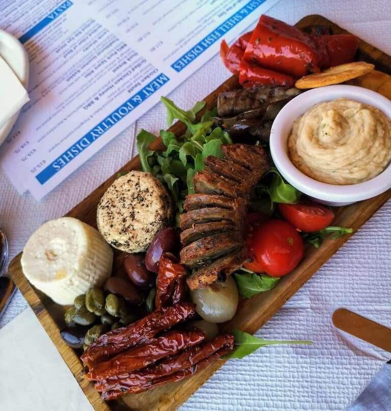 a traditional gozitan platter